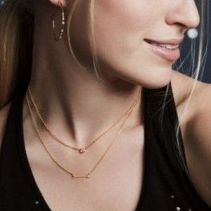 :: S&D Ultra Delicate GOLD Wishing Necklace